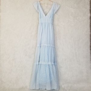 Deby Debo (Anthropologie) Tiered Maxi Dress